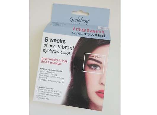 Godefroy Instant Eyebrow Tint, Farbe: Dark Brown