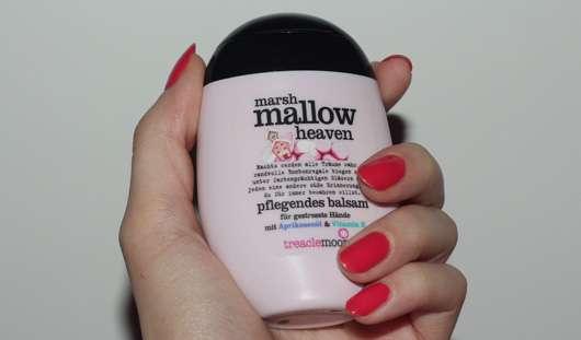 treaclemoon marshmallow heaven pflegendes balsam für gestresste Hände