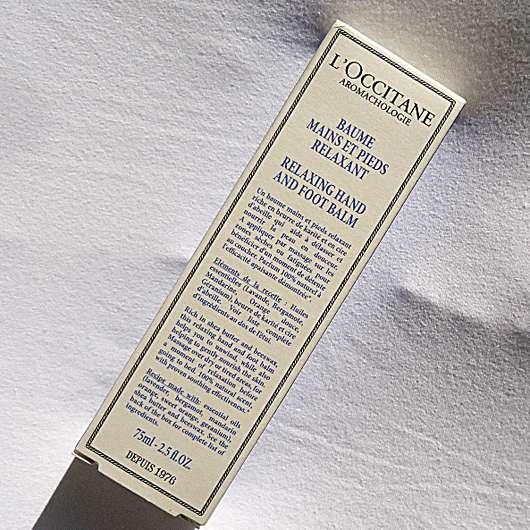 L'Occitane Entspannender Hand- und Fußbalsam