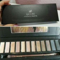 Produktbild zu Luxe Elixir Lagure Eyeshadow Palette