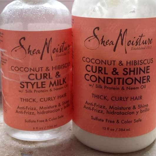 Shea Moisture Coconut & Hibiscus Curl & Shine