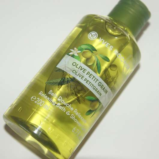 <strong>Yves Rocher Les Plaisirs Nature</strong> Duschbad Olive-Petitgrain