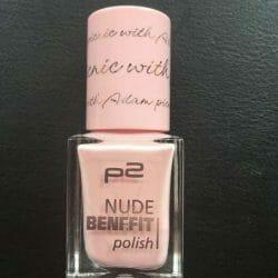 Produktbild zu p2 cosmetics nude benefit polish – Farbe: 040 picnic with Adam