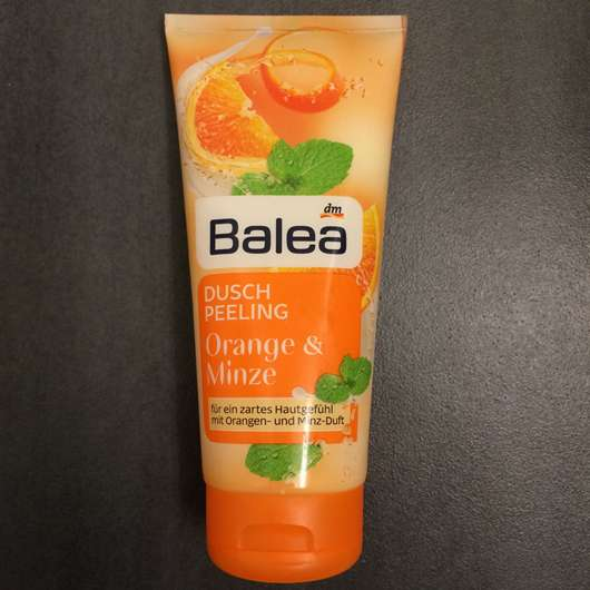 Balea Duschpeeling Orange & Minze