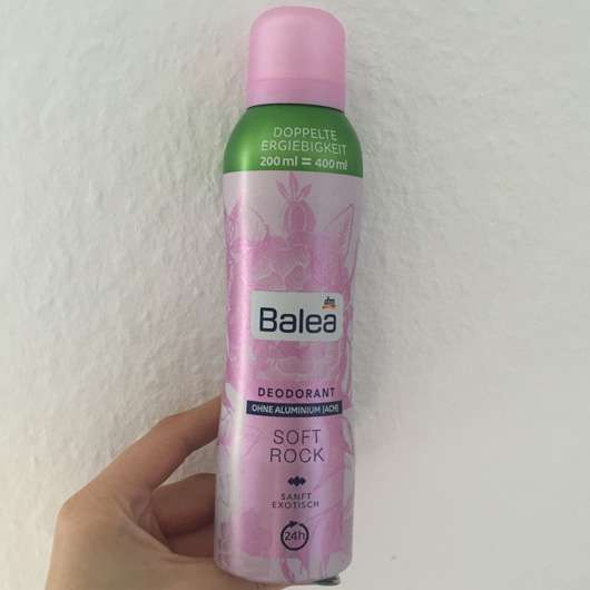 Balea Deodorant Spray Soft Rock