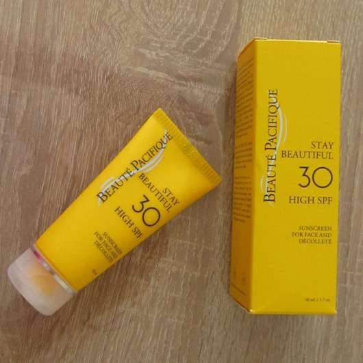 Beauté Pacifique STAY Beautiful Sunscreen For Face And Decolleté SPF 30