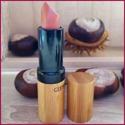 Produktbild zu Catrice Lip Colour Wooden Poetry – C01 NUDEtral Nature (LE)