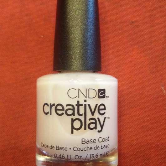 CND CREATIVE PLAY Base Coat