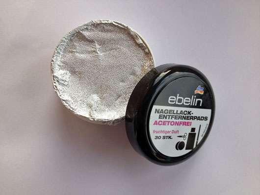 ebelin Nagellackentfernerpads acetonfrei fruchtiger Duft (30 Stk.)