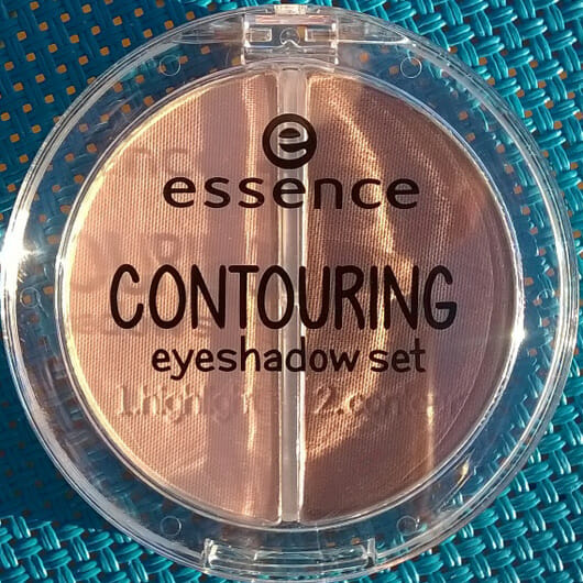 essence contouring eyeshadow set, Farbe: 01 mauve meets marshmallows Verpackung und Design