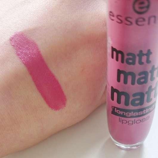 essence matt matt matt longlasting lipgloss, Farbe: 03 girl of today