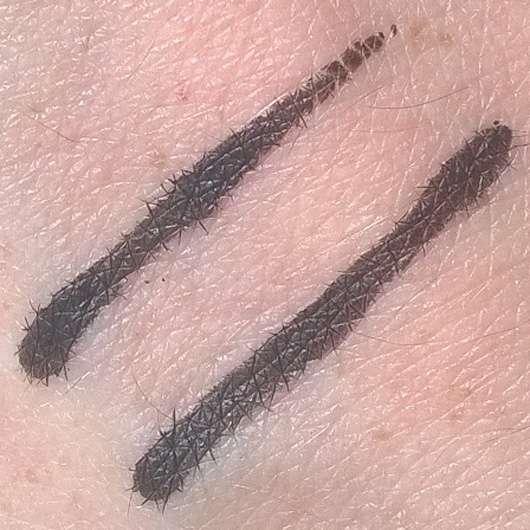 essence rock'n'doll duo stylist eyeliner pen, Farbe: black Swatch