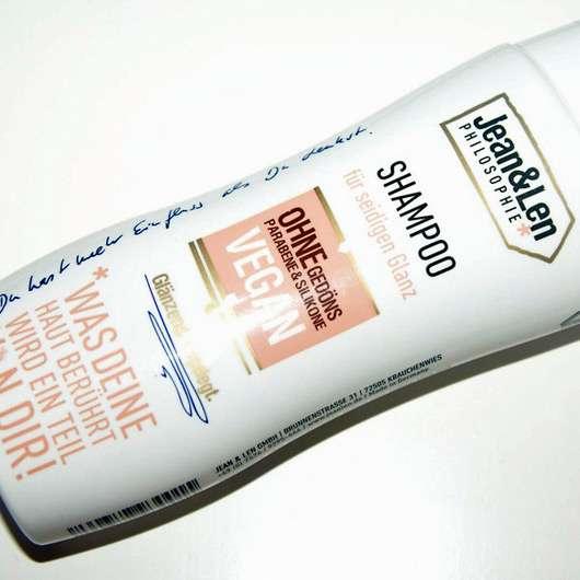 Jean&Len Shampoo für seidigen Glanz