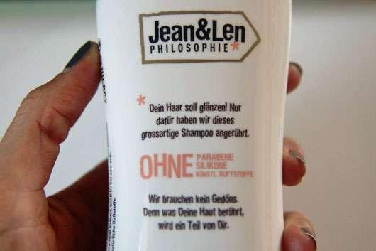 Jean&Len Shampoo für seidigen Glanz-nahaufnahme