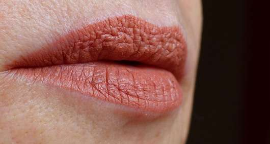 just cosmetics 8h velour matte-lip cream Farbe 060 drop it lMund