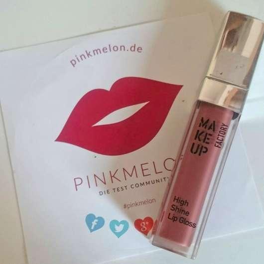 Make up Factory High Shine Lip Gloss, Farbe: 69 Brown Rose