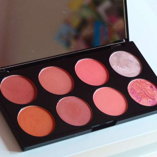 Makeup Revolution London Ultra Blush Palette, Farbe: Hot Spice