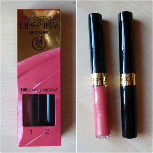 <strong>Max Factor</strong> Lipfinity Lip Colour – Farbe: 148 Forever Precious