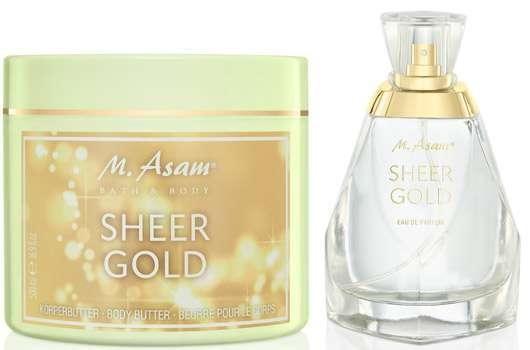 M. Asam Sheer Gold Körperbutter und Duft