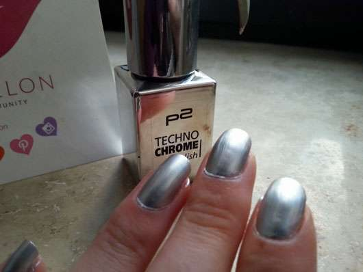 p2 techno chrome polish, Farbe: 010 steel drama