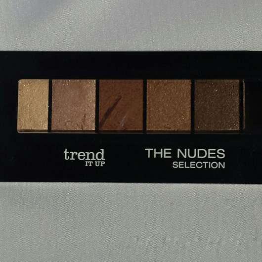 trend IT UP The Nudes Selection Lidschatten-Palette, Farbe: 010