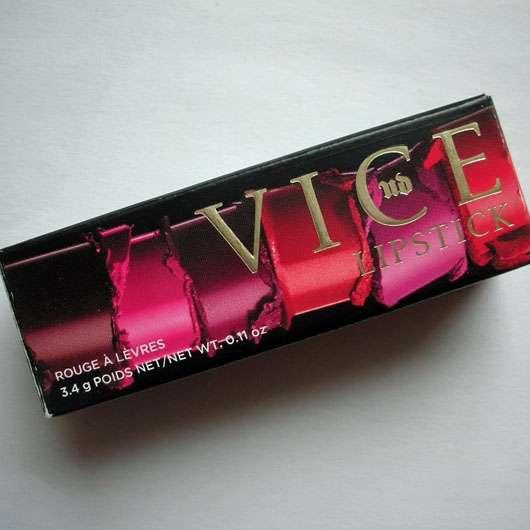 Urban Decay VICE Lipstick, Farbe: Temper (Comfort Matte Finish)-verpackung