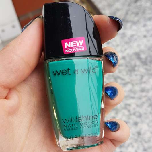 <strong>wet n wild</strong> Wild Shine Nail Color - Farbe: E483D Be More Pacific