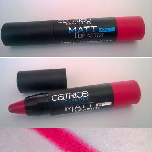 Catrice Matt Lip Artist 6hr, Farbe: 040 HibisKiss-Proof