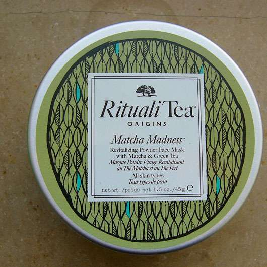 "Origins RitualiTea ""Matcha Madness"" Revitalizing Powder Face Mask"