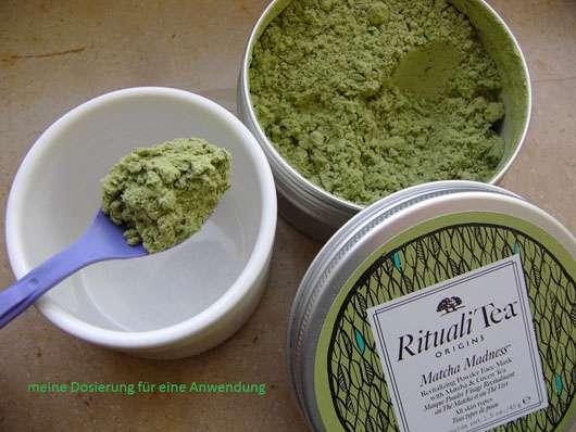 "Origins RitualiTea ""Matcha Madness"" Revitalizing Powder Face Mask - Dosierung"