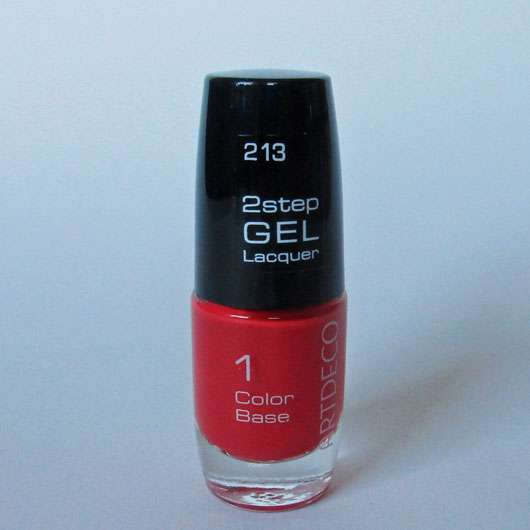 ARTDECO 2Step Gel Lacquer Color Base, Farbe: 213 Ibiza Sunset
