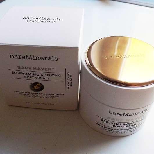 bareMinerals Bare Haven Essential Moisturizing Soft Cream - Verpackung