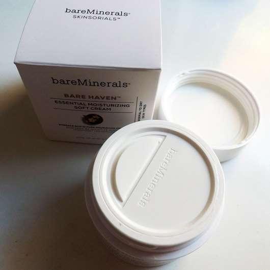 bareMinerals Bare Haven Essential Moisturizing Soft Cream - Hygienedeckel