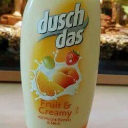 Produktbild zu duschdas Fruit & Creamy Duschgel mit Frucht-Extrakt & Milch