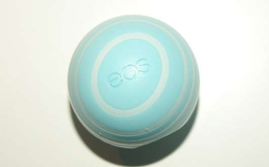 eos Visibly Soft Lip Balm, Sorte: Vanilla Mint Deckel