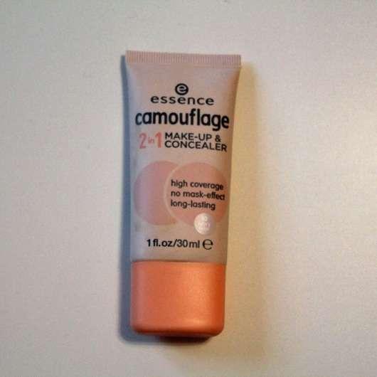 essence camouflage 2in1 make-up & concealer, Farbe: 10 ivory beige
