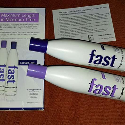 <strong>Fast</strong> Shampoo/Conditioner Kombination
