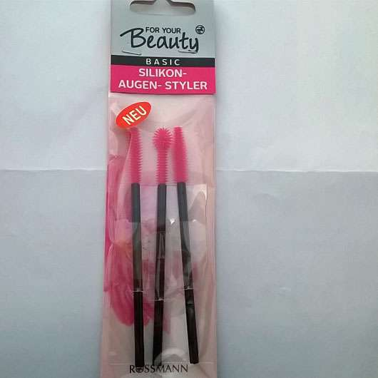 <strong>for your Beauty Basic</strong> Silikon-Augen-Styler