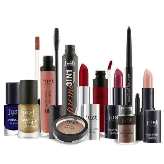 10 x 1 Trendlook-Set von just cosmetics zu gewinnen