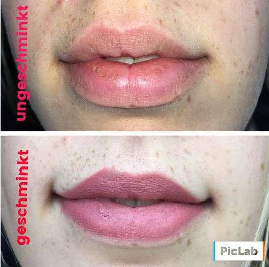 just cosmetics vivacious beauty tempting love lipstick, Farbe: 020 rosewood (LE) - auf den Lippen