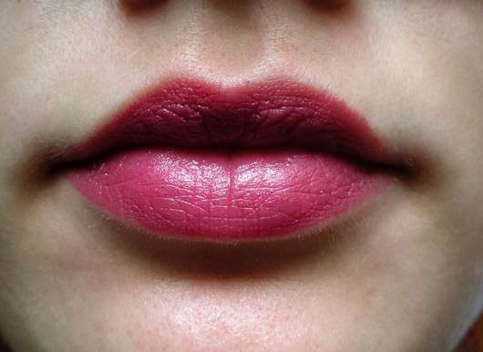 KORRES Guava Lipstick, Farbe: 27 Mauve - auf den Lippen