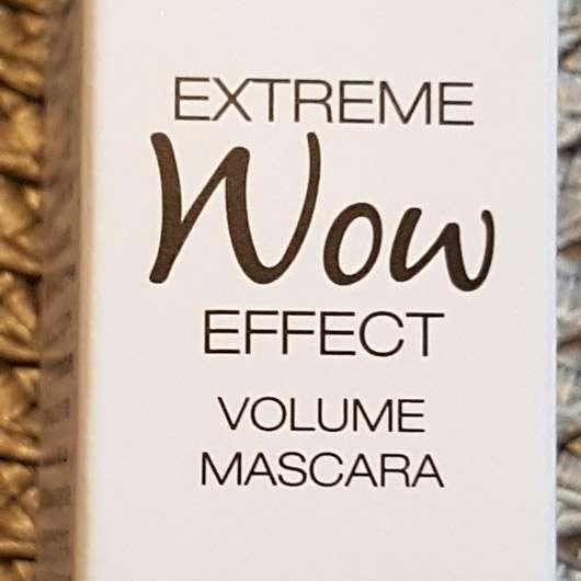 LCN Extreme WOW Effect Volume Mascara, Farbe: Schwarz - Beschreibung