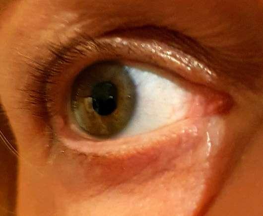 LCN Extreme WOW Effect Volume Mascara, Farbe: Schwarz - Wimpern ungeschminkt