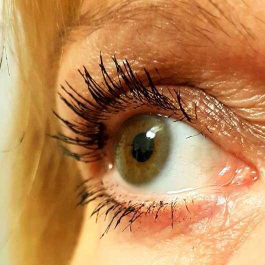 LCN Extreme WOW Effect Volume Mascara, Farbe: Schwarz - getuschte Wimpern