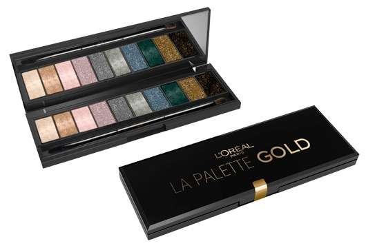 L'Oréal Paris LA PALETTE GOLD BY COLOR RICHE