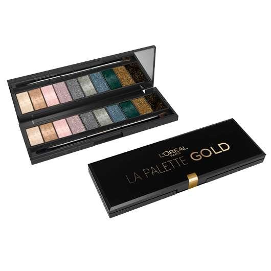 L'Oréal Paris LA PALETTE GOLD