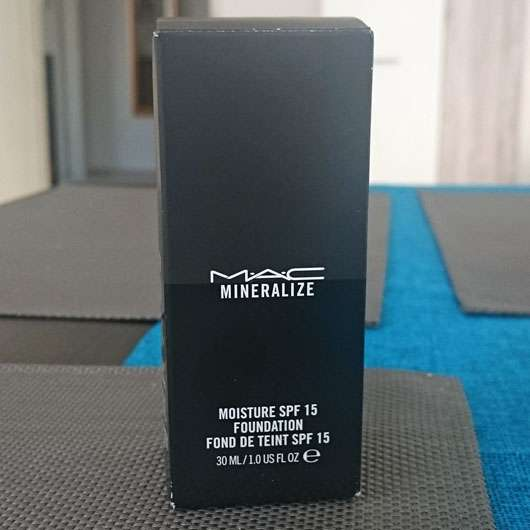 <strong>M·A·C</strong> Mineralize Moisture SPF15 Foundation - Farbe: NC15