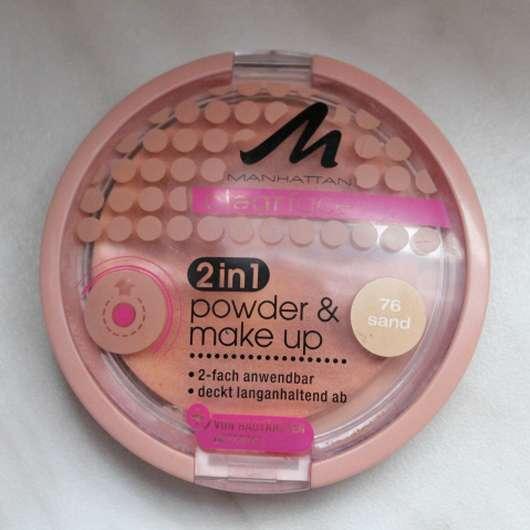 MANHATTAN CLEARFACE 2in1 powder & make-up, Farbe: 76 sand