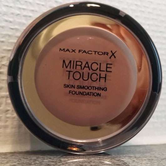 Max Factor Miracle Touch Foundation, Farbe: 070 Natural-Dose