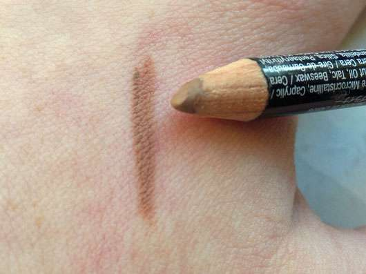 NYX Slim Lip Pencil, Farbe: 857 Nude Beige Swatch